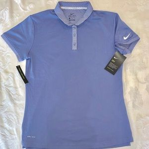 Nike Golf Dri Fit Polo Short sleeve purple lilac